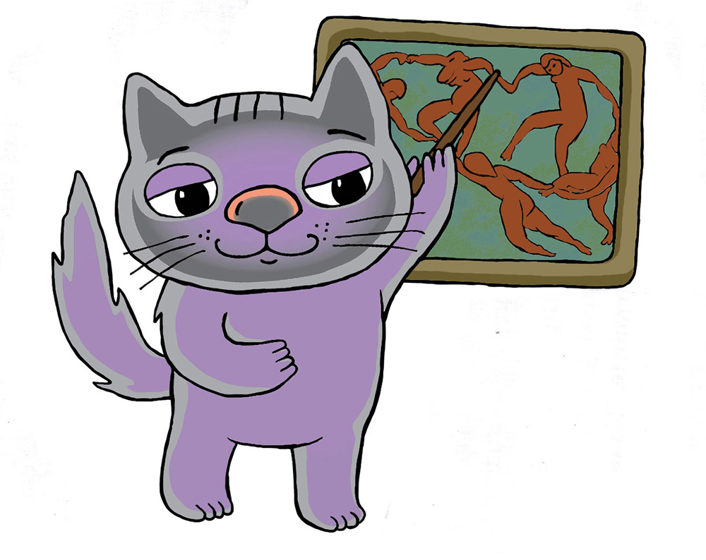 """Проект """"Культурный кот"""". Музейные экскурсии"""