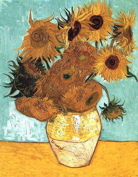 twelve-sunflowers