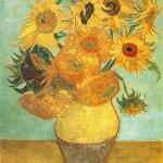 Мастер-класс для детей «Подсолнухи» Ван Гога