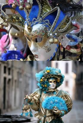 Мастер-класс для детей «Венецианские карнавальные маски»
