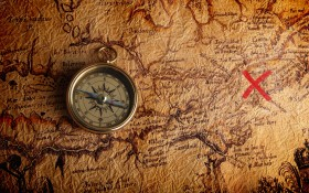 compass-old-map-showing-the