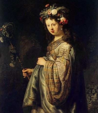 рембрандт Флора1